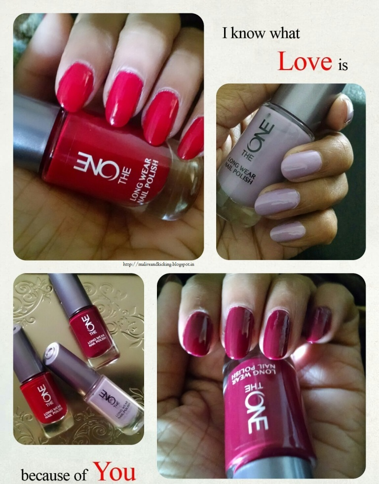 Alive n Kicking: Oriflame The ONE Long Wear Nail Polish Review ...