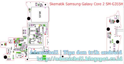 Skematik Samsung Galaxy Core 2 SM-G355H