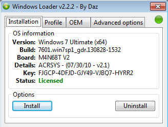 Cara Aktivasi Windows 7 All Version Menggunakan Windows 7 Loader