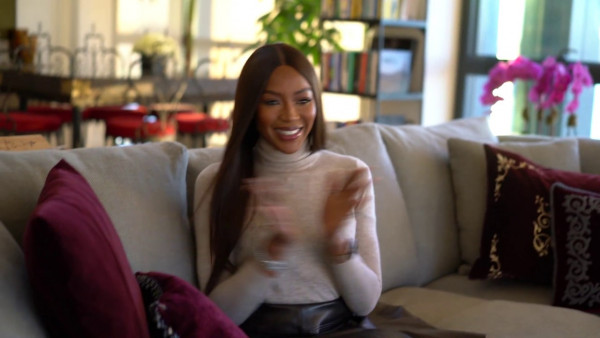 """Naomi Campbell has launched her """"Being Naomi"""" YouTube Channel"""