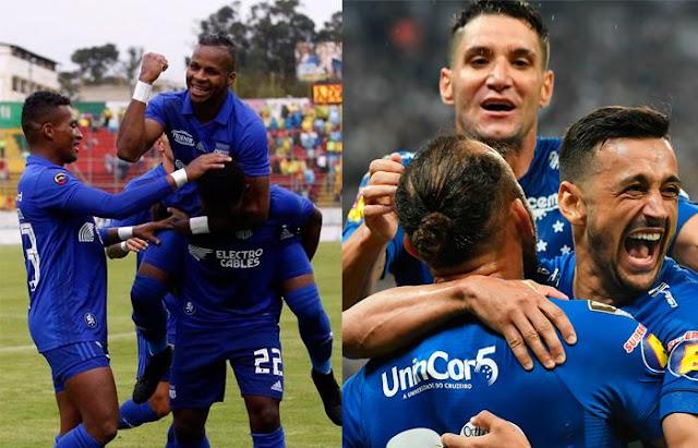 Emelec vs Cruzeiro EN VIVO ONLINE por la tercera fecha de la Copa CONMEBOL Libertadores 2019.