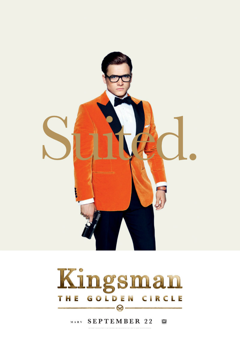 kingsman the golden circle taron egerton