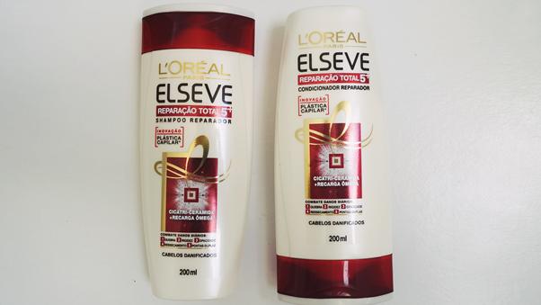 Plástica Capilar: Elseve Branco Resenha Review Shampoo Condicionador