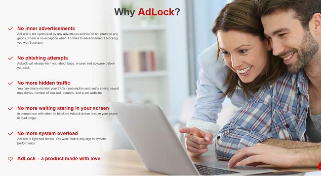 AdLock Features
