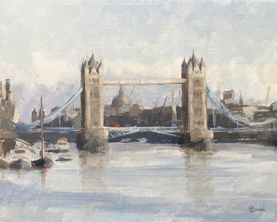 #93 'Tower Bridge, London' 8×10″