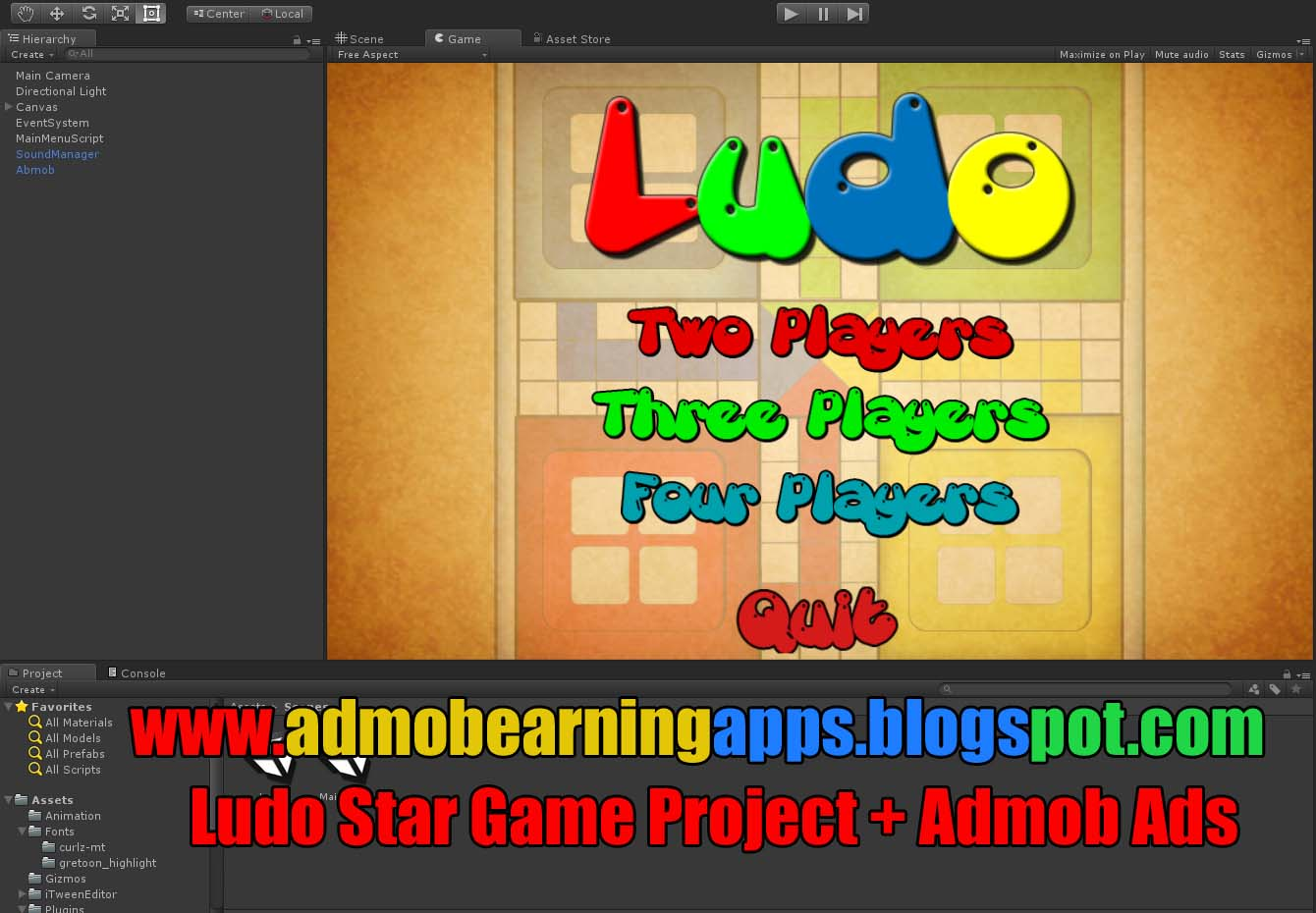 Ludo Unity3D Source Code + Admob Integration + Android iOS