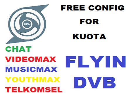 Config KPN Tunnel Rev Gratis Plus Akun SSH Premium Untuk Kuota Chat, Videomax, Musicmax, dan Youthmax Telkomsel