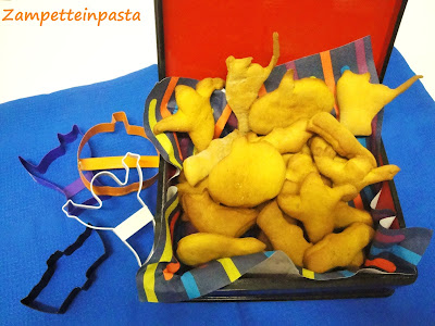 Biscotti di zucca - Ricetta di Halloween