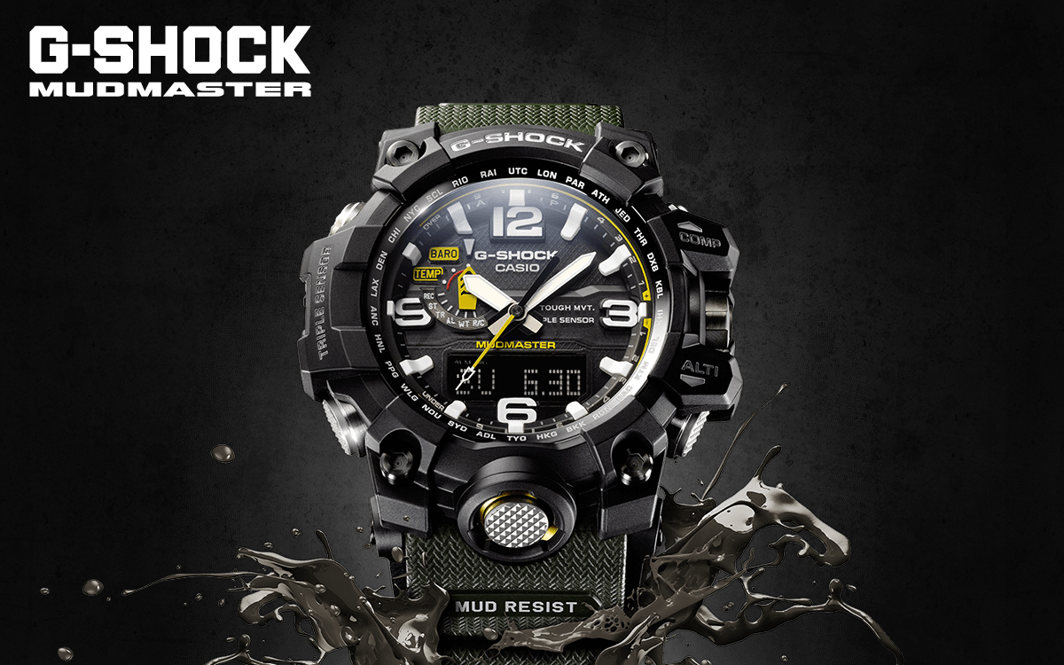 2de5977993e0 The MUDMASTER is a sub-series of Casio G-Shock watches that falls under the  umbrella of the Master of G Collection (other current sub-series in this .