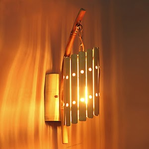 7 Inspirasi Lampu Dinding Dari Bambu untuk Mempercantik Ruanganmu