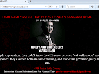 Ahoker Meretas Situs PN Negara Jembrana Bali www.pn-negara.go.id