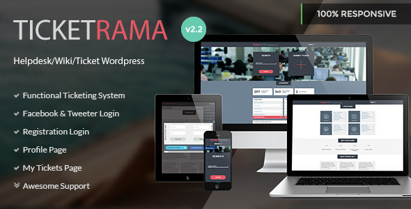 Download Free: Ticketrama v2 2 - Wp Helpdesk | Ticket