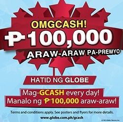 Get a chance to win P100,000 with GCASH's biggest promo from May 25
