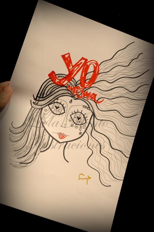 lola mento ilustraciones, lola mento, cuadros lola mento, cuadros decorativos lola mento, dibujos lola mento