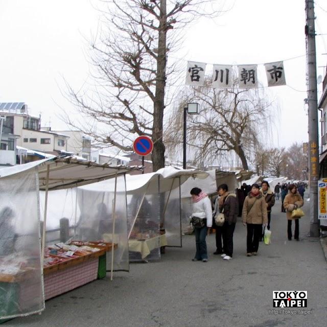 【宮川朝市】在高山造訪日本三大朝市 買可愛的飛驒娃娃