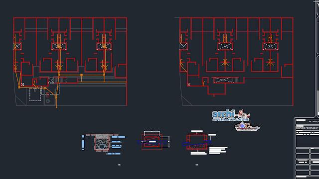 Module departments Dwg