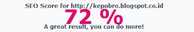 Cek Skor SEO Website dengan Chkme