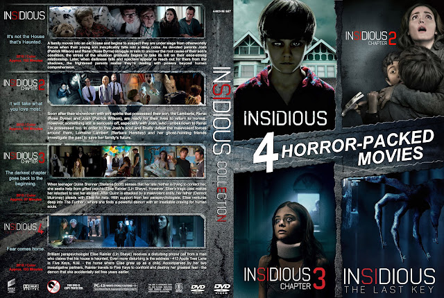 Insidious Collection DVD Cover