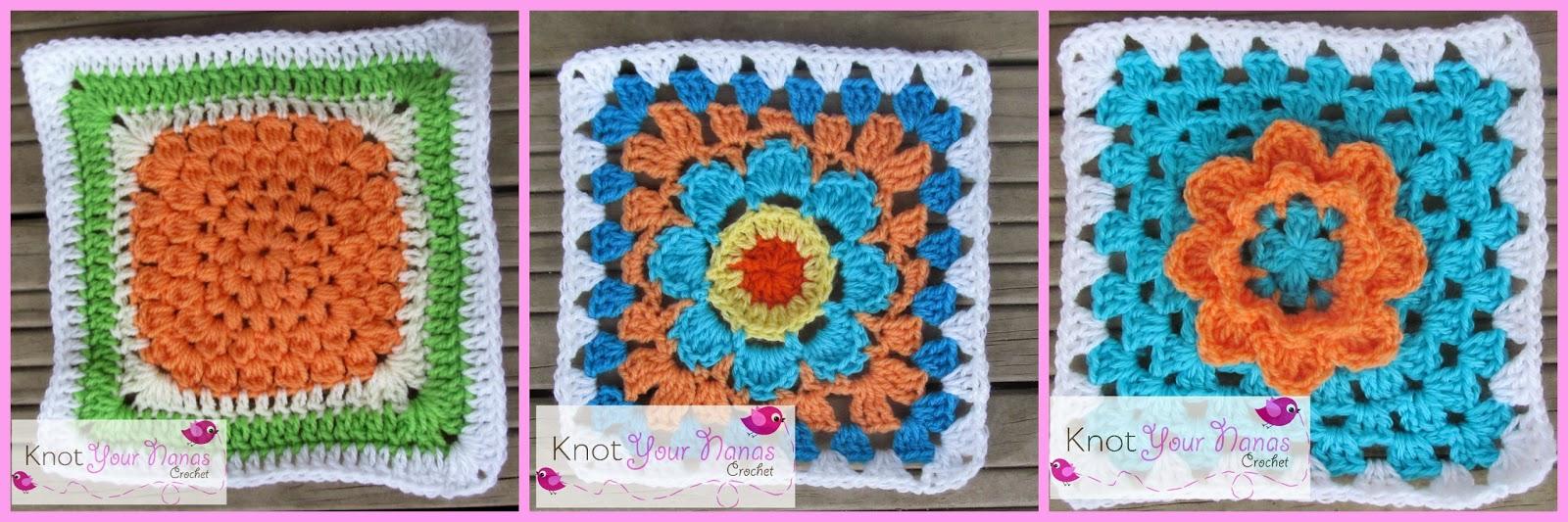 Knot Your Nana's Crochet: Granny Square Crochet Along