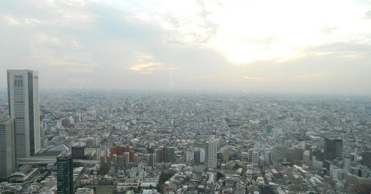 A view of Tokyo