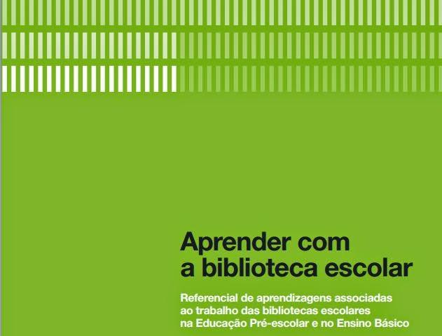 Referencial Aprender com a Biblioteca Escolar