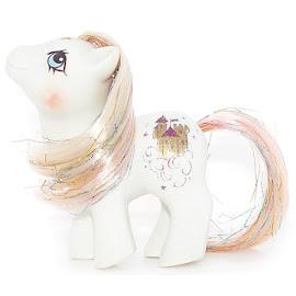 My Little Pony Baby Princess Sparkle Year Eight Playset Ponies G1 Pony