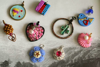 Art Charm Swap ~ Love: ooak charms :: All Pretty Things
