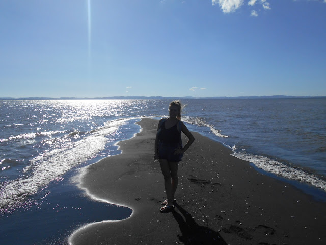 Bryony at Punta Jesus Maria