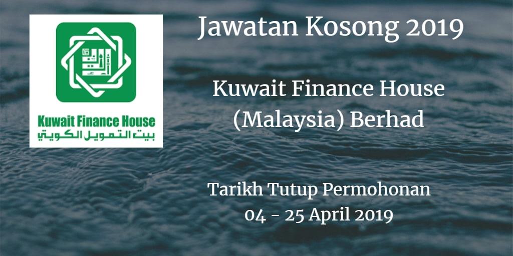 Jawatan Kosong KFH 04 - 25 April 2019