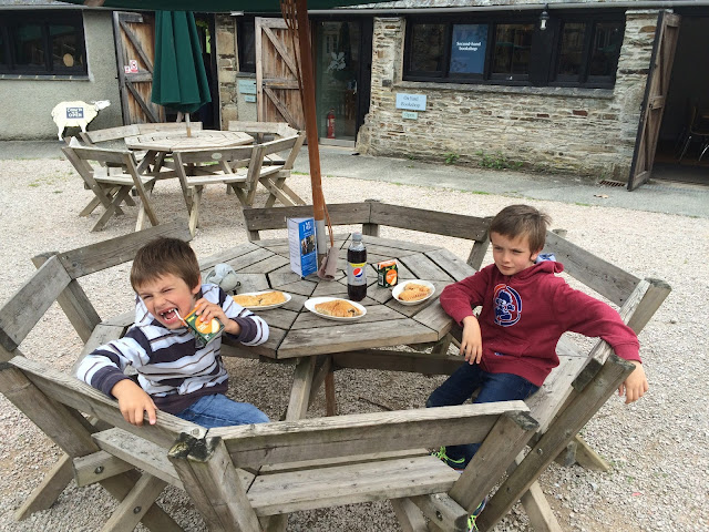 Lunch at Buckland Abbey