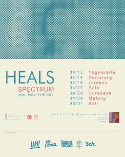 """HEALS Lepas Album Perdana """"Spectrum"""" Lalu berlanjut Tour 7 kota Jawa dan Bali"""