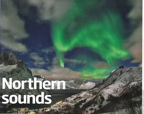 Northern Sounds (Source: David Hambling, New Scientist magazine, April 6, 2019)
