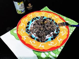 Рецепта за императорски ориз с ориз басмати, гъби и соев сос