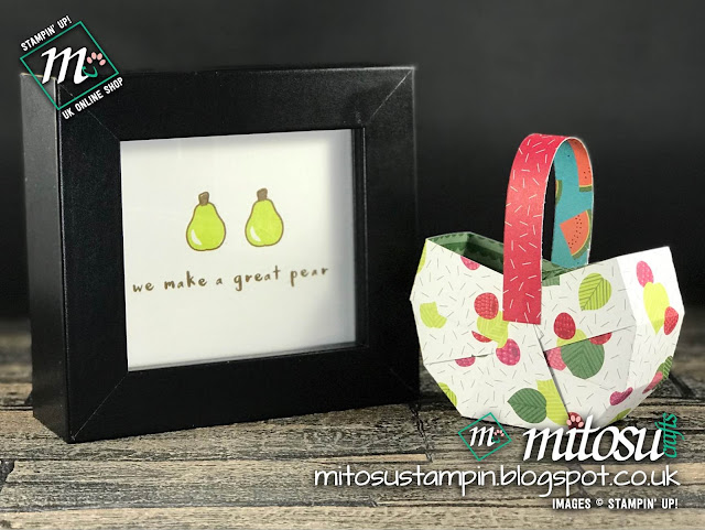 Fruit Basket & Tutti-Frutti DSP by Stampin' Up! from Mitosu Crafts