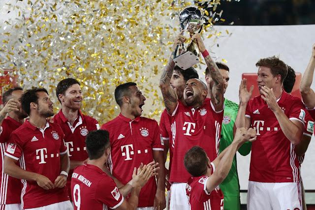 Bayern Múnich campeón de Supercopa de Alemania