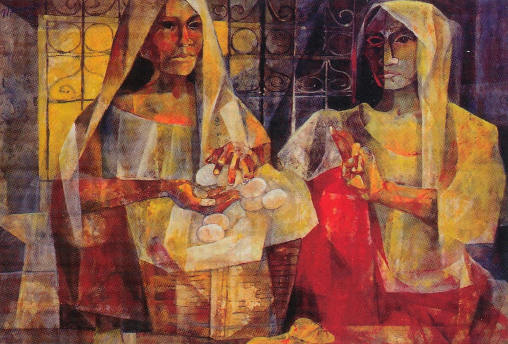 Exposition Art Blog: Cubism Vicente Silva Manansala
