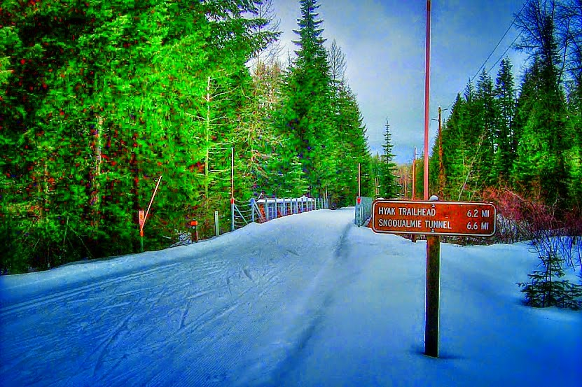 Hyak Sno-Park At Snoqualmie Pass