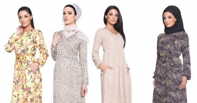 Butik Muslimah Olshop Perempuan Muslim Bergaya Gaun Abaya