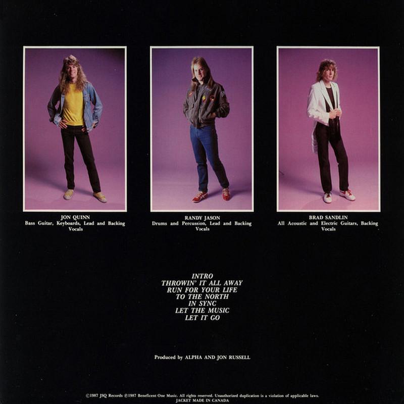 ALPHA - Alpha(1987) back - LP restored audio