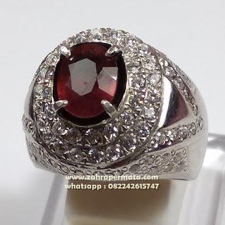 Cincin Batu Permata Ruby Pigeon Blood ZP1093
