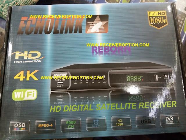 ECHOLINK REBORN HD RECEIVER BISS KEY OPTION