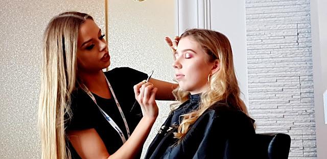 warsztaty makijażowe z klaudią owczarek i marką pierre rene