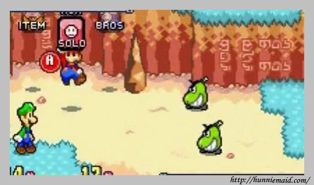 Mario And Luigi Superstar Saga Gba