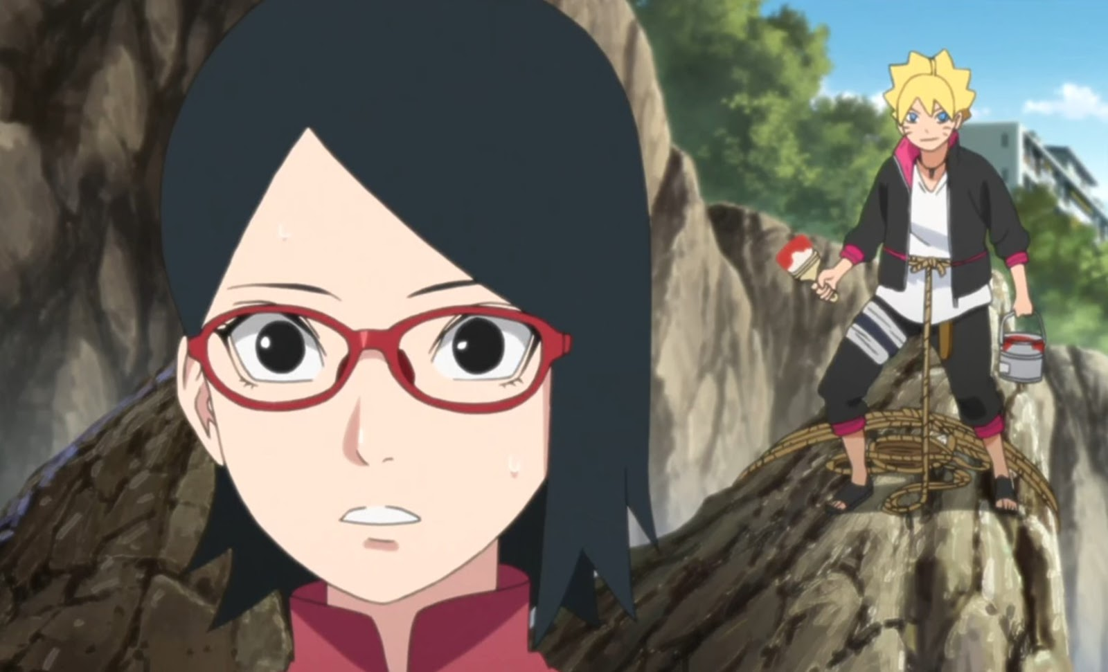 Boruto: Naruto Next Generations – Episódio 30 – Sharingan vs Kiba, a espada do trovão!