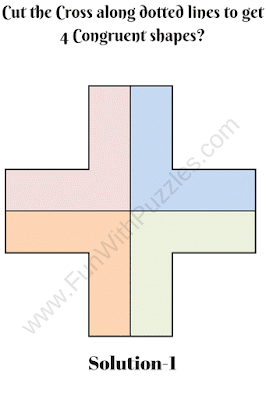 Cut the Cross Puzzle Solution-1