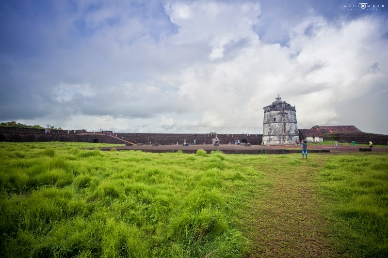 Places to see in Goa - Aguada Fort - Pick,Pack,Go