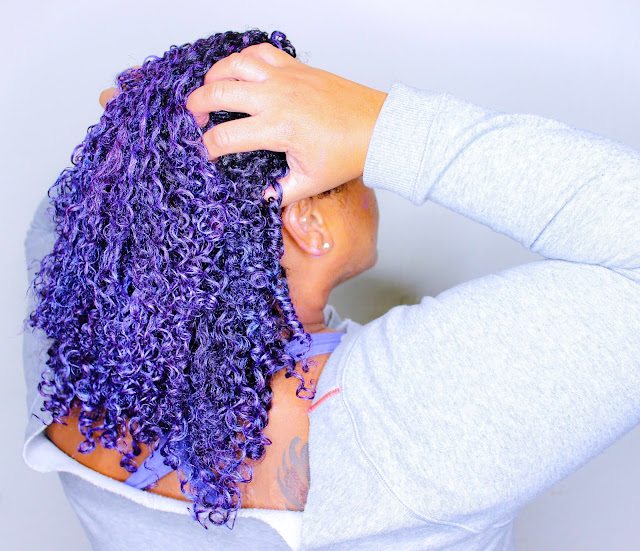 Rainbow Colors for Dark Natural Hair WITHOUT Damage! Pop! Curl Review