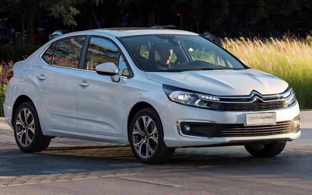 Novo Citroen C4 Lounge Shine - Branco