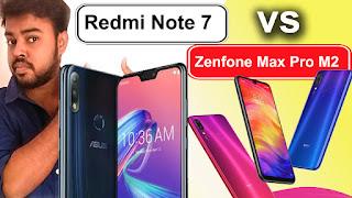 compare Redmi Note 7 vs Asus Zenfone Max Pro M2