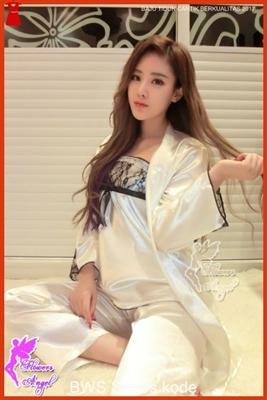 B17FWS PIYAMA Murah Baju Tidur Wanita Korea Kimono